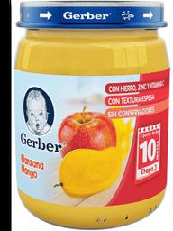 Papilla Gerber etapa 3 manzana mango 170 g