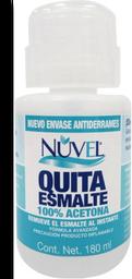 Quitaesmalte Nuvel 100% Acetona 180 mL