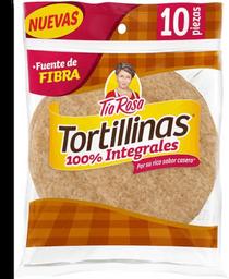 Tortillas de Harina Tortillinas Tía Rosa Integrales 255 g