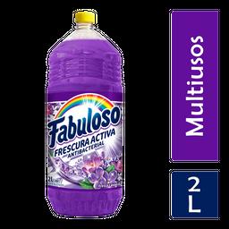 Limpiador Fabuloso Antibacterial Lavanda Multiusos 2L
