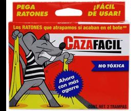 Trampa Para Ratones Caza Fácil No Tóxica 2 U
