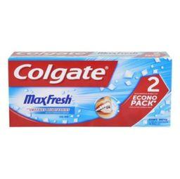 Gel Dental Colgate Max Fresh cool mint 2 pzas de 90 ml c/u