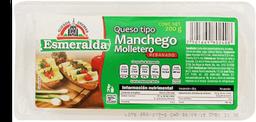 Queso Manchego Esmeralda Molletero en Rebanadas 200 g