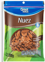 Nuez Great Value Pelada 200 g