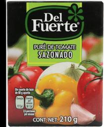 Puré de Tomate Del Fuerte Sazonado 210 g
