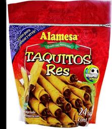 Tacos de res Alamesa congelados 24 pzas