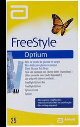 Prueba de Glucosa FreeStyle Tiras 25 U