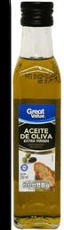 Aceite de Oliva Great Value Extravirgen 250 ml