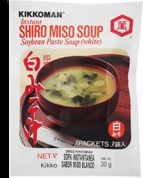 Sopa Instantánea Kikkoman Sabor Miso Blanco 30 g