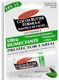 Protector Cocoa Butter Formula Labial Chocolate Menta 4 g
