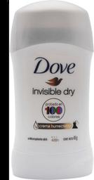 Desodorante Dove Invisible D en Barra 45 g