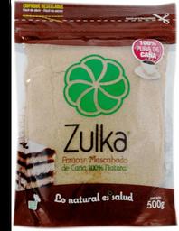 Azúcar Mascabado Zulka  500 g