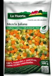 Verduras La Huerta Mezcla Juliana Congeladas 100% Natural 500 g