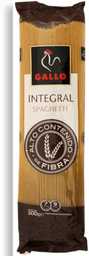 Pasta Gallo Spaghetti Integral 500 g