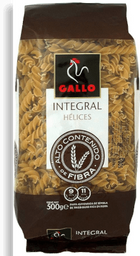 Pasta Gallo Hélice integral 500 g