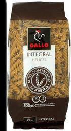 Pasta Gallo Hélice integral 500 g