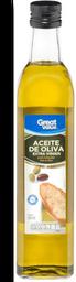 Aceite de Oliva Great Value Extra Virgen Botella 500mL