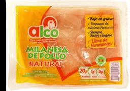 Milanesa de Pollo Alco Natural 550 g