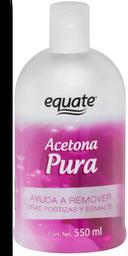 Acetona Pura Equate 550 mL