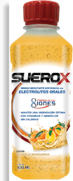 Suero Oral Suerox 8 Iones Naranja Mandarina 630 mL