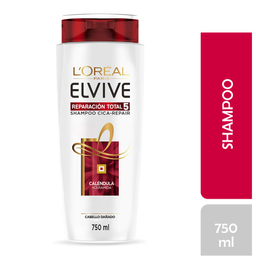 Shampoo L'Oréal Paris Elvive Reparación Total 5 750 mL