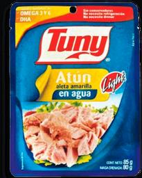 Atún Tuny en Agua Light Aleta Amarilla 85 g