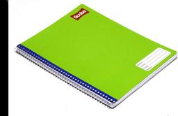 Cuaderno Profesional Scribe Espiral Blanco 100 H 1 U