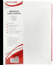 Block First Class Repuesto Para Carpeta C5 Con 100 Hojas 1 U