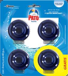 Pastillas para Baño Mr. Músculo Azul 40 g x 4 U