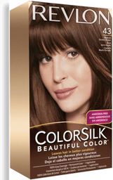 Tinte Revlon Colorsilk 43 Castaño Medio Dorado 1 U