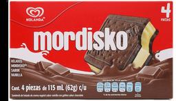 Sándwich de Helado Mordisko Vainilla 4 U