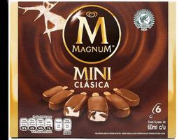 Paleta Magnum Mini Clásica 60 ml x 6 U
