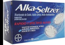 Alka Seltzer 10 tabletas efervescentes
