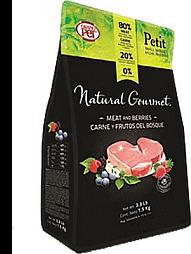 Natural Gourmet Alimento Raza Pequena Carne Frutos Del Bosque