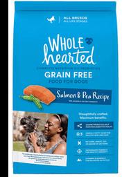 Whole Hearted Grain Free Natural Perro Adulto Receta Salmón
