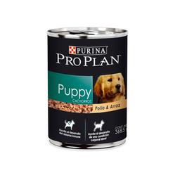 Alimento Húmedo para Cachorro Receta Pollo y Arroz