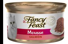 Alimento Húmedo Fancy Feast Para Gato Mousse Salmon 85 g