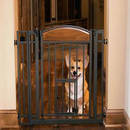 Carlson Pet Products Puerta de Diseñador de Metal