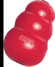 KONG Juguete Clásico Kong 7.6 cm alto 4.4 cm ancho Chico