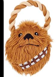 Star Wars Peluche Cabeza de Chewbacca con Cuerda para Perro