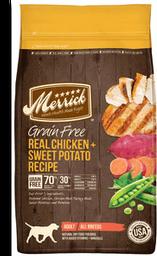 Grain Free Alimento Natural Perro Adulto Receta Pollo y Camote