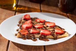 Crepa de Nutella con Fresas