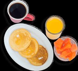 Desayuno Americano y Jugo Grande