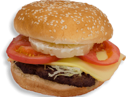 Hamburguesa Doble Queso