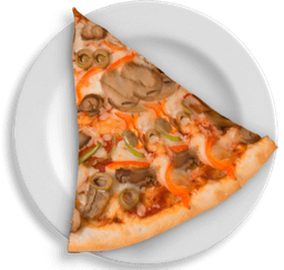 Rebanada Vegetariana