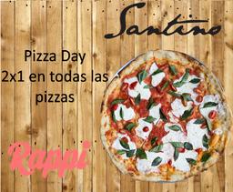2x1 Pizza Salmone Affumicato (Ahumado)