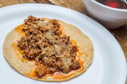 Tres Tacos de Barbacoa Norteña