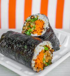 Oriental Chicken Burrito