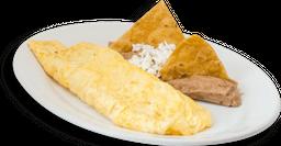 Omelette con Queso