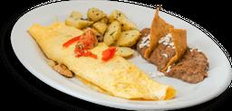 Omelette de Champiñón con Queso